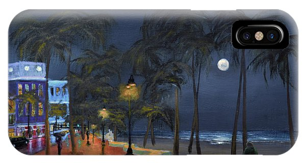 Fort Lauderdale Beach At Night IPhone Case