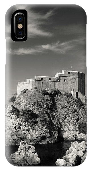 Imposing iPhone Case - Fort Lavrijenac by Dave Bowman