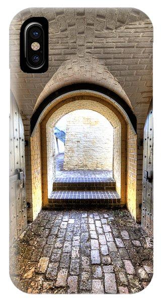 Fort Moultrie Bunker Doors IPhone Case