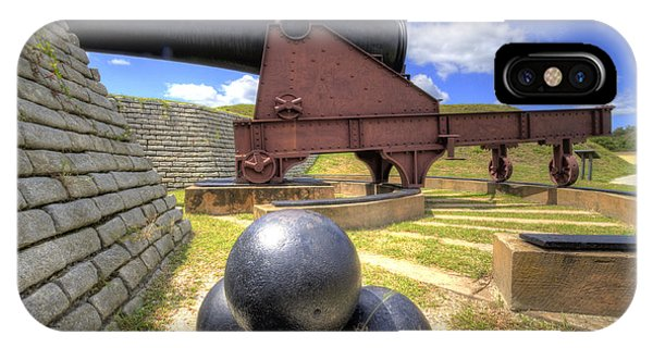 Fort Moultrie Cannon Balls IPhone Case
