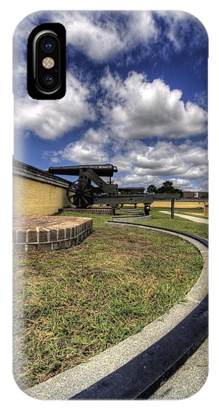 Fort Moultrie Cannon Rails IPhone Case