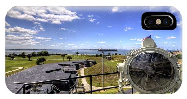 Fort Moultrie Signal Light IPhone Case