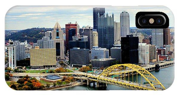 Fort Pitt Bridge IPhone Case
