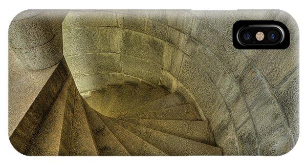 Fort Popham Stairwell IPhone Case