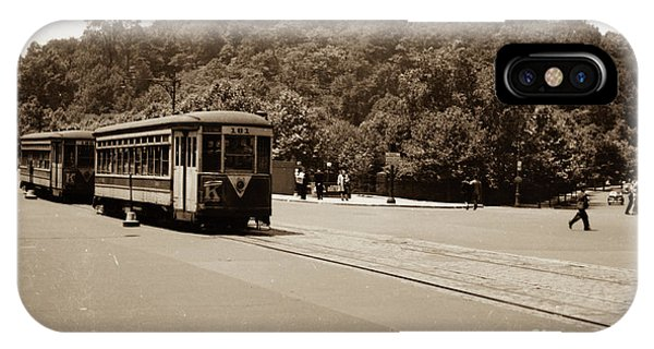 Fort Tryon Trolley IPhone Case