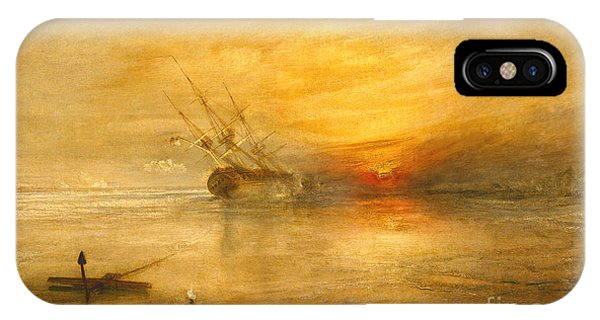 Sunny iPhone Case - Fort Vimieux by Joseph Mallord William Turner
