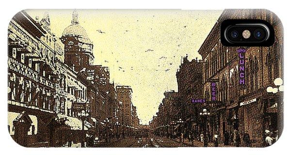 Fort Wayne Indiana 1913 IPhone Case