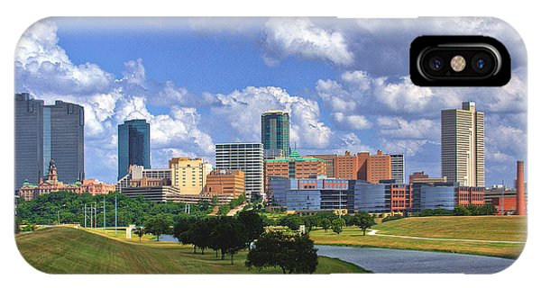 Fort Worth #1 IPhone Case