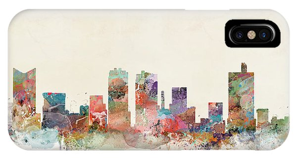Fort iPhone Case - Fort Worth City Skyline by Bri Buckley
