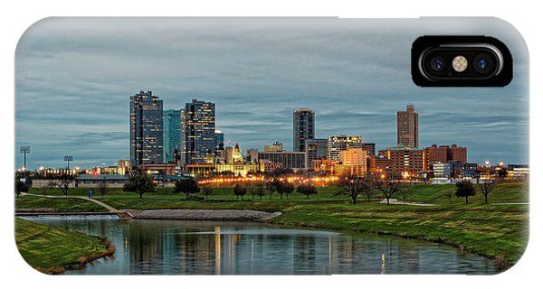 Fort iPhone Case - Fort Worth Color by Jonathan Davison