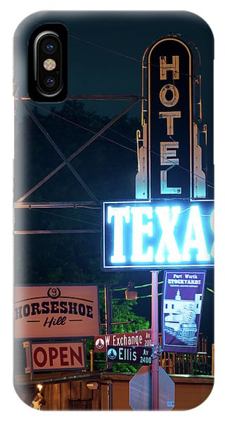 Fort Worth Hotel Texas 6616 IPhone Case