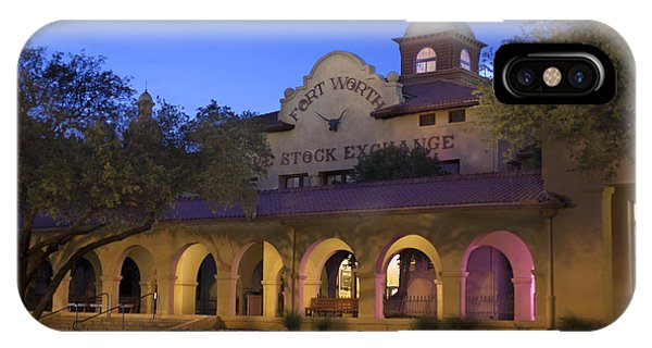 Fort Worth Livestock Exchange IPhone Case
