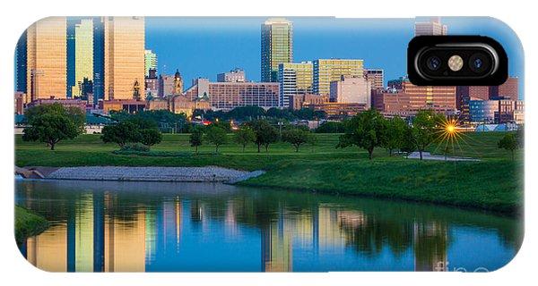 Fort Worth Mirror IPhone Case