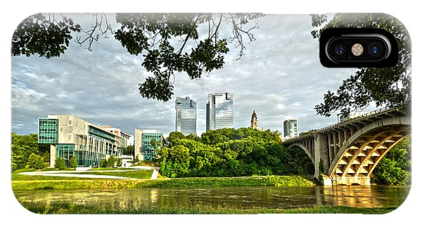 IPhone Case featuring the photograph Fort Worth Skyline 1 by Ricardo J Ruiz de Porras