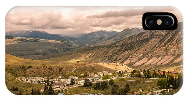 Mammoth Hot Springs iPhone Case - Fort Yellowstone by Robert Bales