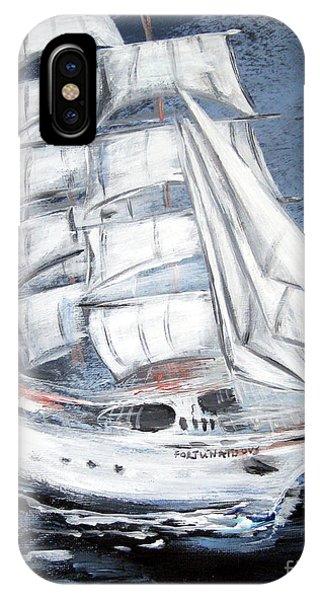 Fortunate. Sailing Ship IPhone Case