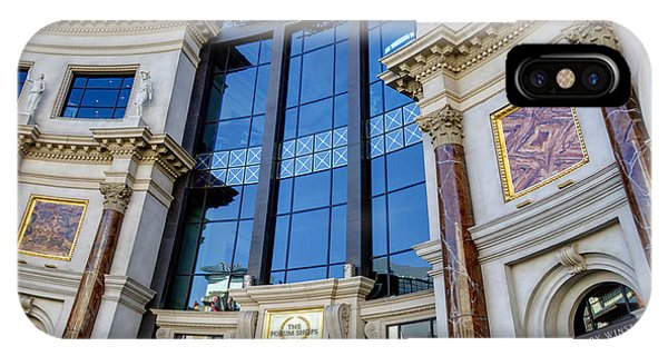 Window Shopping iPhone Case - Forum Shops Vii by Ricky Barnard