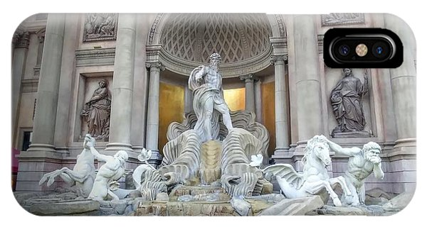 Forum Shops Statues At Ceasars Palace IPhone Case