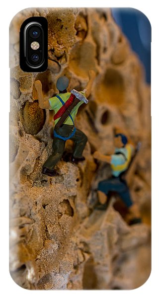 Fossil Rock Climbing IPhone Case