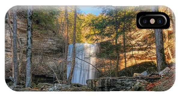 Lower Greeter Falls 1 Phone Case by Dale Wilson