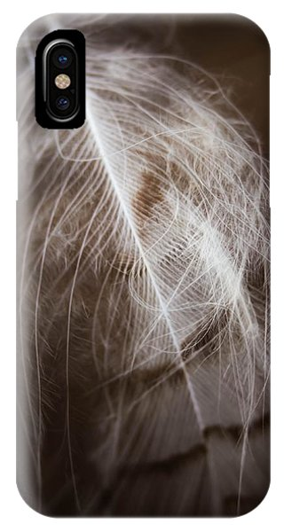 Found Feather IPhone Case