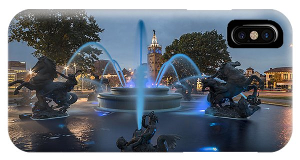 Fountain Blue IPhone Case