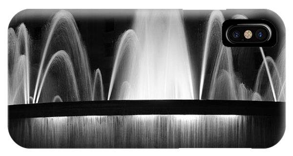 Fountain In Barcelona IPhone Case