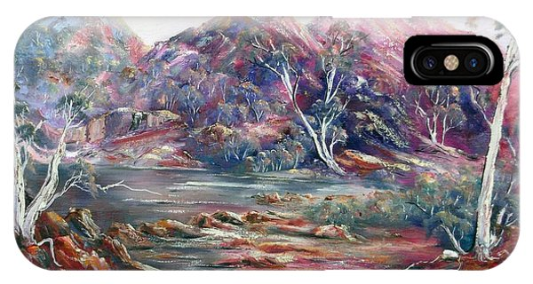 Fountain Springs Outback Australia IPhone Case