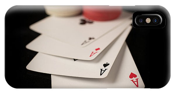 Four Aces Poker IPhone Case