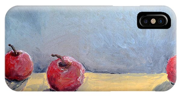 Four Apples IPhone Case