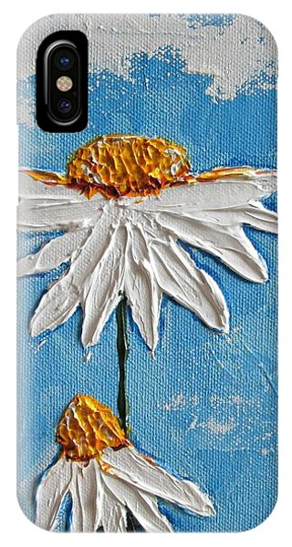 Four Daisies IPhone Case