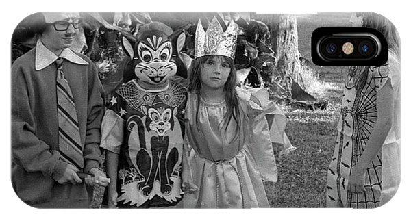 Four Girls In Halloween Costumes, 1971, Part Two IPhone Case