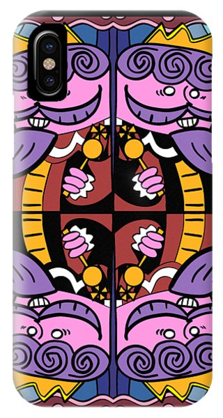 Four Kings IPhone Case