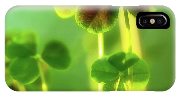 Four Leaf Clover IPhone Case