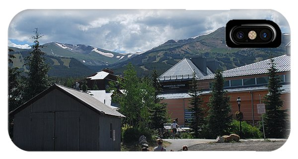 Four Little Children Safe In A Big Beautiful World Telluride Colorado IPhone Case