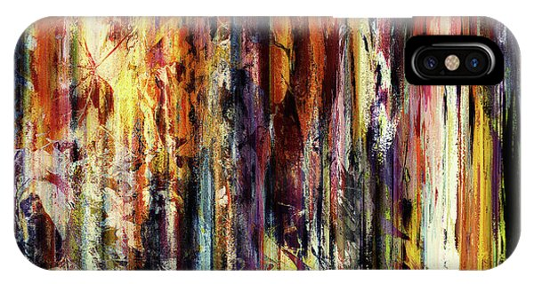 Four Seasons In One Forest Abstract IPhone Case