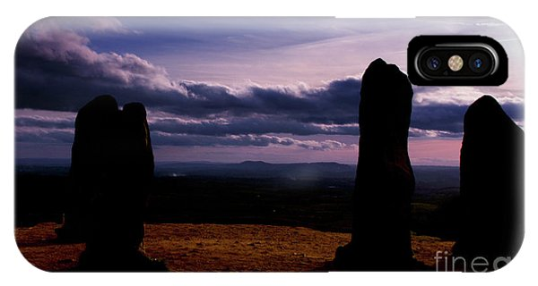 Four Stones Clent Hills IPhone Case