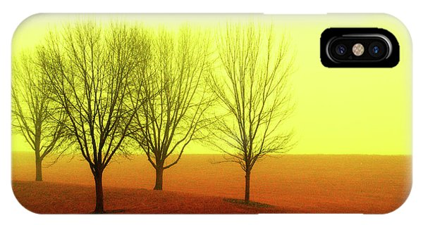 Four Trees IPhone Case