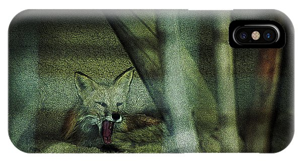 Fox Cry IPhone Case