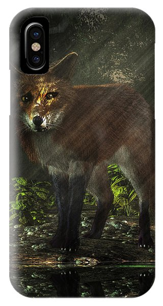 Fox In The Deep Forest IPhone Case