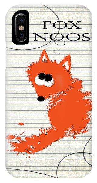 Fox Noos IPhone Case