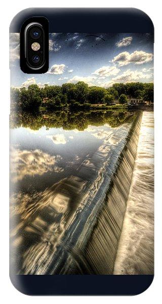 Fox River At The Geneva Dam IPhone Case