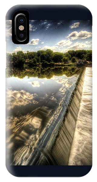 Fox River At The Geneva Dam IPhone Case
