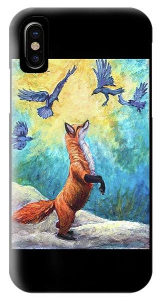 fox Phone Case by Sebastian Pierre