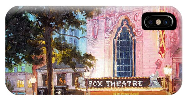 Fox Theatre In St.louis IPhone Case