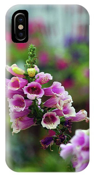 Foxglove 1154 H_2 IPhone Case