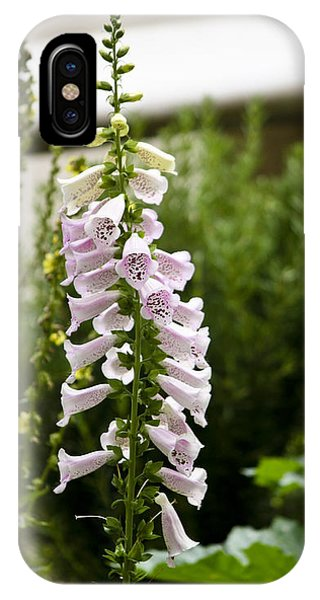 J Paul Getty iPhone Case - Foxglove At The Getty by Teresa Mucha