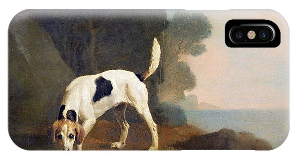 Scent iPhone Case - Foxhound On The Scent by George Stubbs