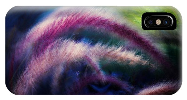 Foxtails In Shadows IPhone Case