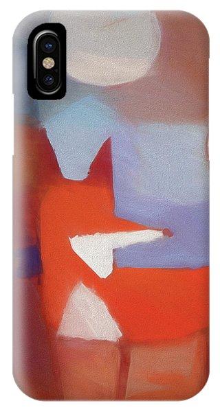 Foxy Art IPhone Case